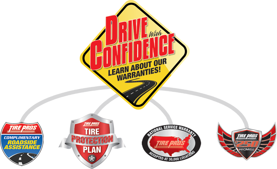 Tire Pros Drive With Confidence Guarantee at Bear River Valley Tire Pros in Corinne, UT